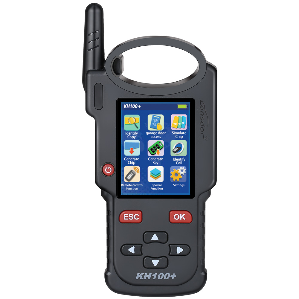 LONSDOR KH100+ Remote Key Programmer Latest Handheld Device Update Version of KH100