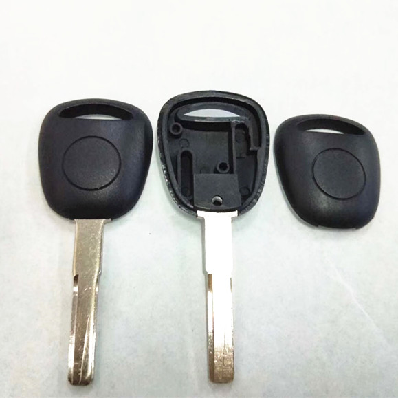 Transponder key Shell with double Chip groove For Saab - Pack of 5
