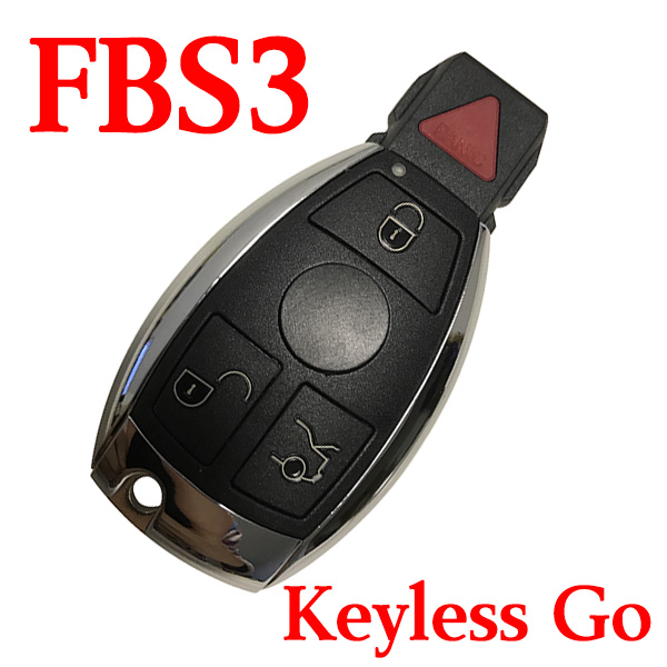 3+1 Buttons 315 MHz FBS3 Smart Proximity Key for Mercedes-Benz