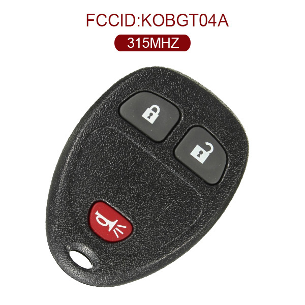 AK019001 for GMC 2+1 Button Remote Set(USA) 315MHZ KOBGT04A