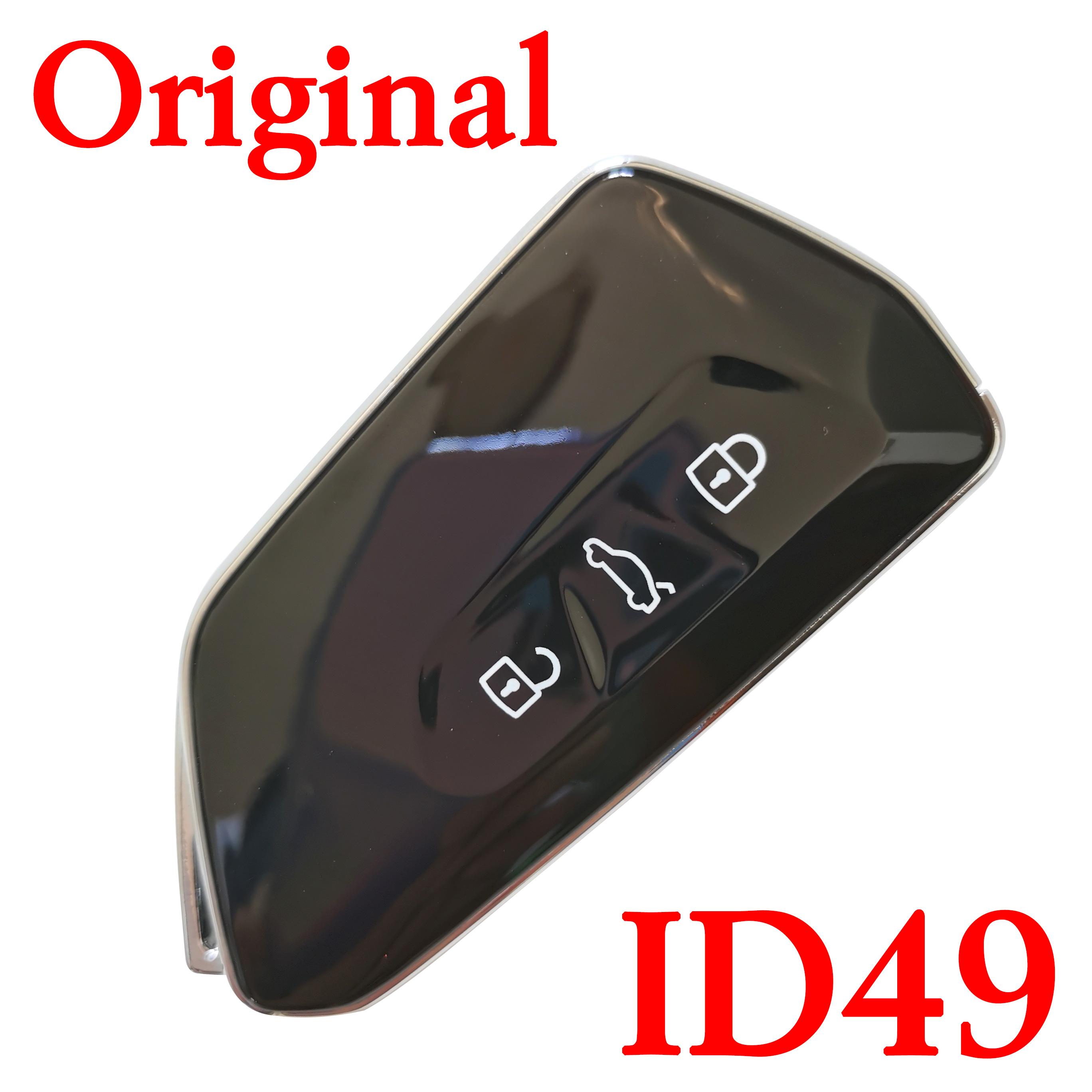 Original 3 Buttons 434 MHz Smart Proximity Key for Skoda - ID49