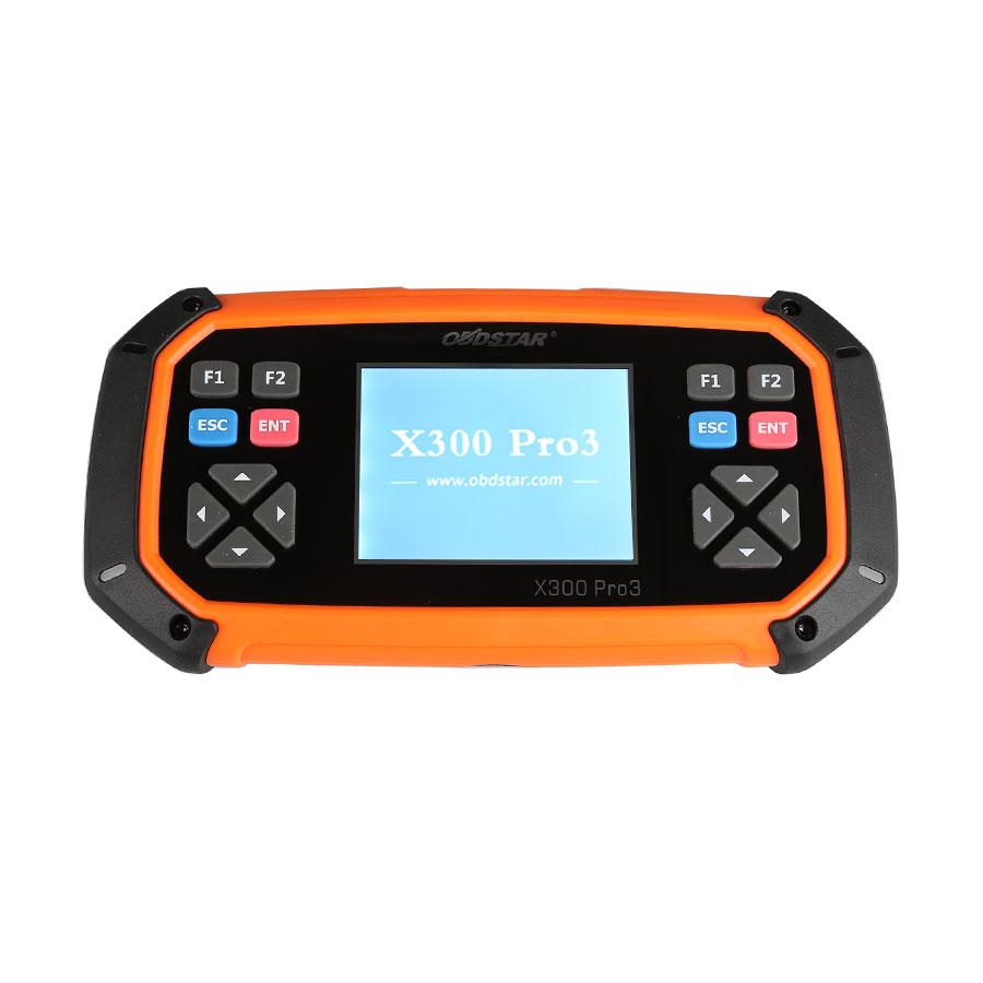 OBDSTAR X300 PRO3 X-300 Key Master with Immobiliser + Odometer Adjustment +EEPROM/PIC+OBDII+Toyota G & H Chip All Keys Lost