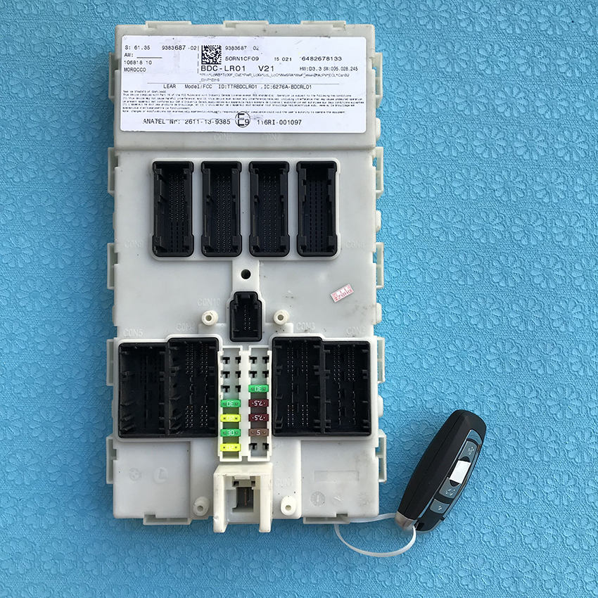 For BMW Computer 9383687 9387262 Compatible FEM and CAS4 Come With Key