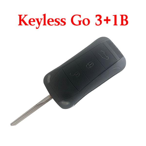 3+1 Buttons 315 MHz Smart Proximity Key for 2006-2011 Porsche Cayenne - KR55WK45032