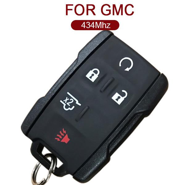 AK019011 for GMC Smart Remoe Key 4+1 Button 434MHz