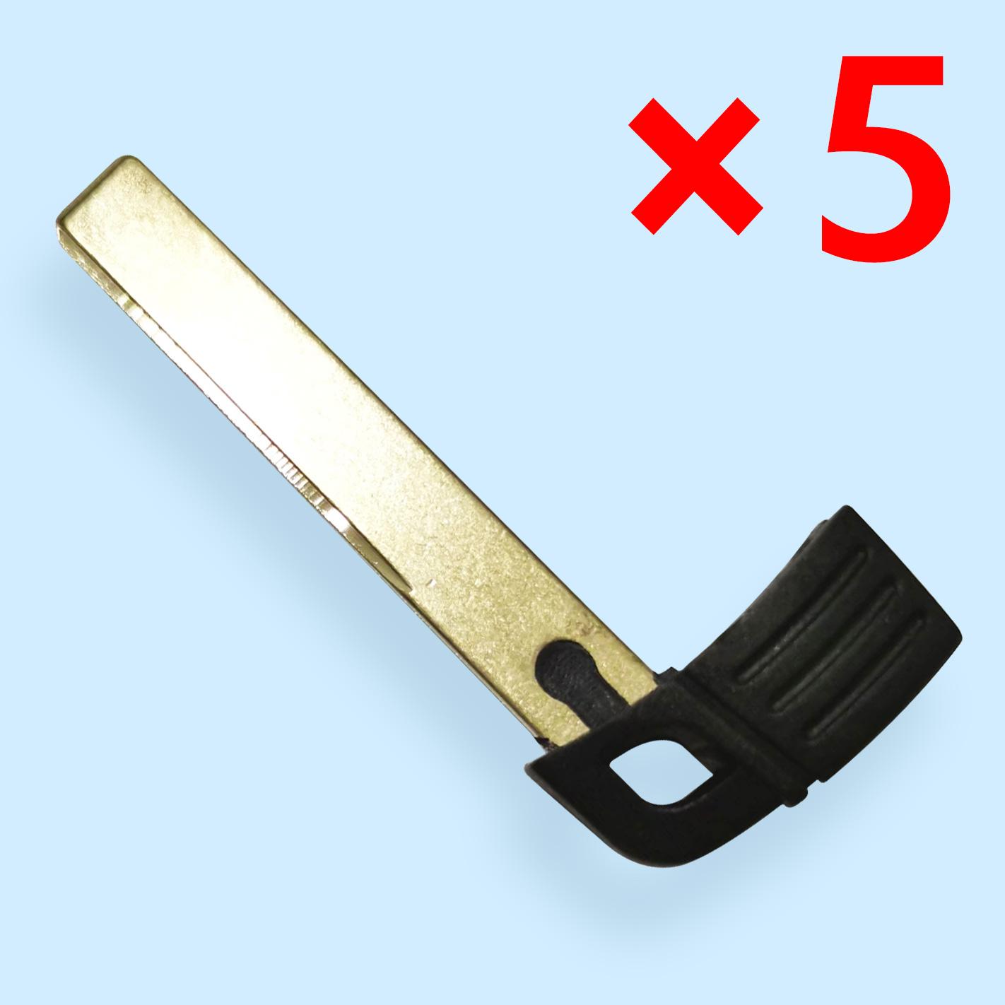 HU92 Smart Emergency Key Blade for BMW CAS3 - 5 pcs
