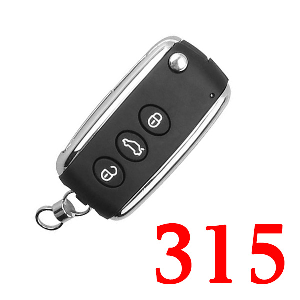 3+1 Buttons 315 MHz Smart Proximity Key for Bentley