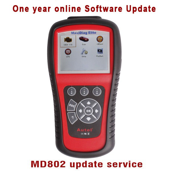 One Year Online Update Service for MD802