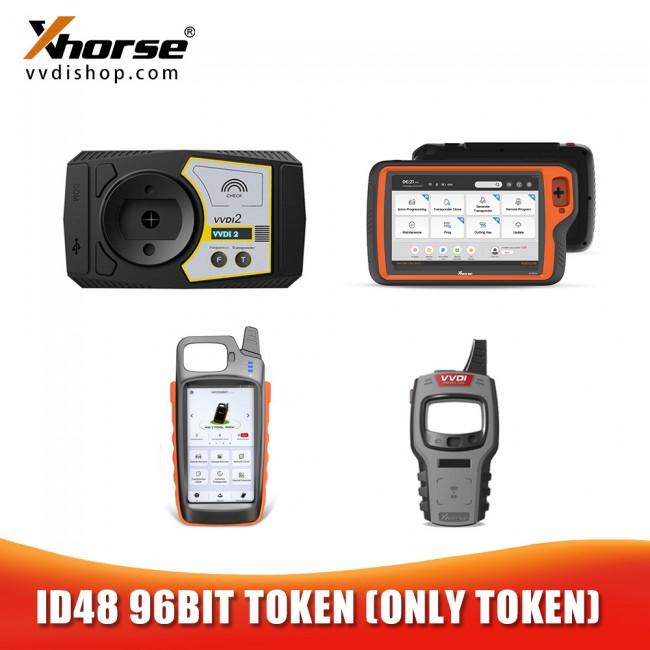 1 Token for ID48 96 Bit Copy for VVDI2, VVDI Key Tool, Mini Key Tool, Key Tool Max and Key Tool Plus