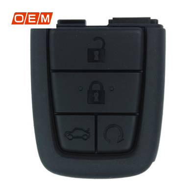 4 Buttons Genuine Remote Rubber 92245050 for Chevrolet Caprice Lumina - Pack of 5