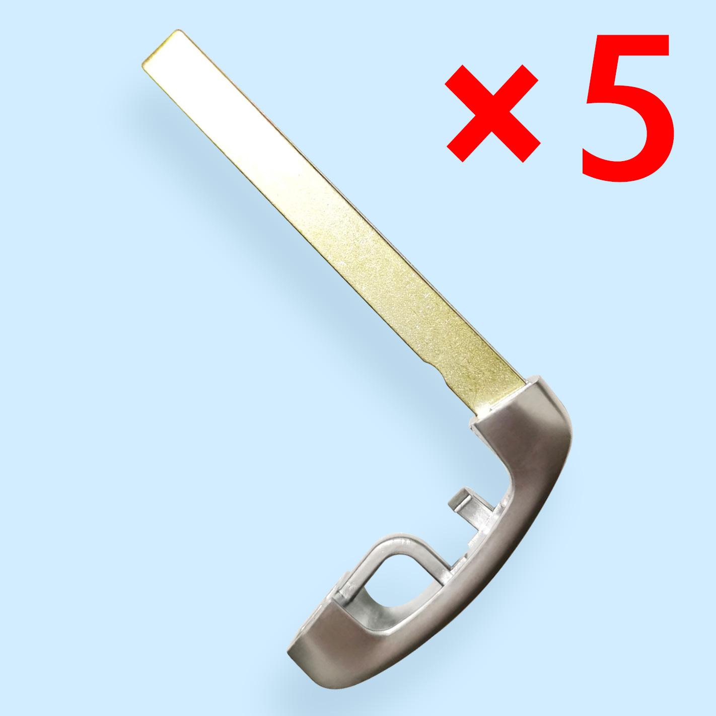 HU100R Emergency Key Blade for BMW CAS4 - Pack of 5