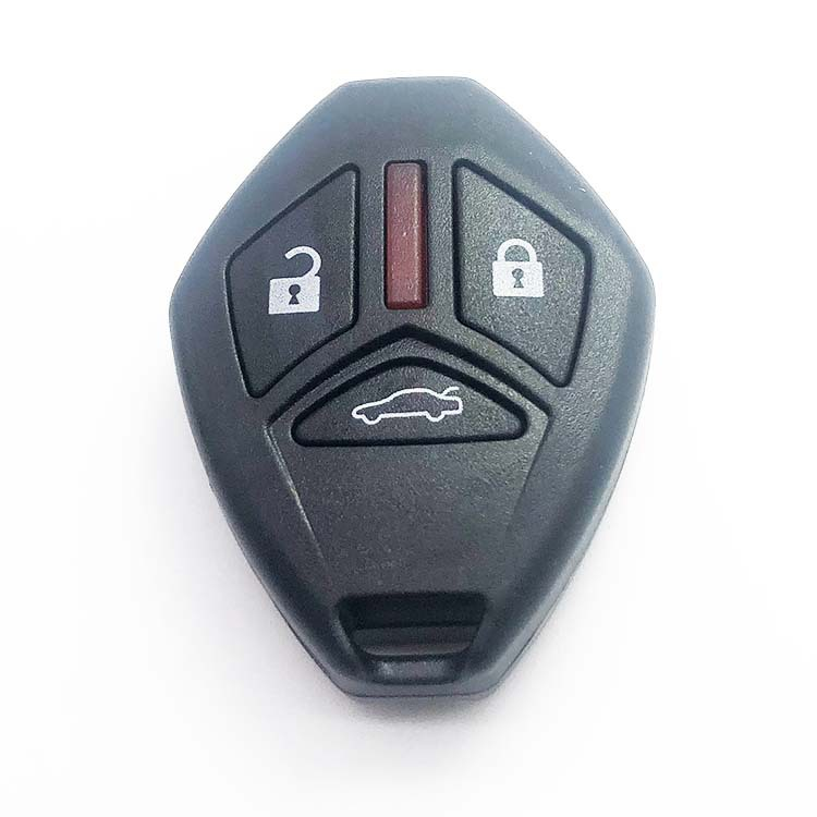 3 Buttons Remote Key Shell without Blade for Mitsubishi (5pcs)