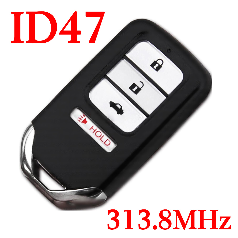 Original 313.8 MHz 3+1 Buttons Smart Key for 2013 ~ 2015 Honda Accord Civic - ID 47