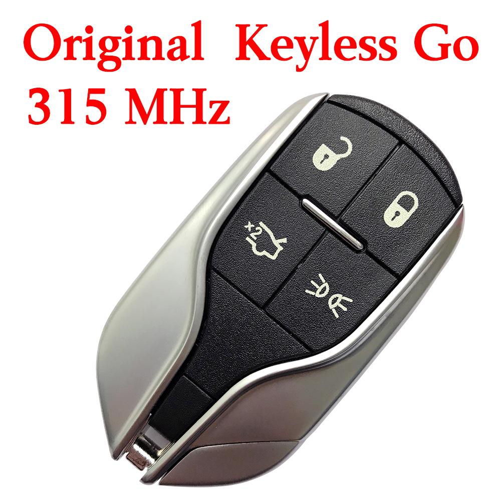 Original 4 Buttons 315 MHz Smart Proximity Key for Maserati