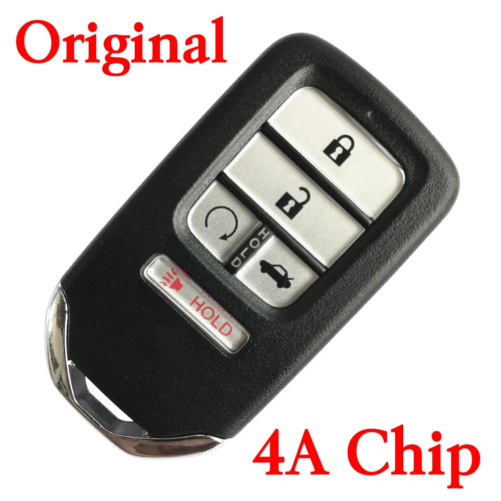Original 5 Buttons 434 MHz Smart Proximity Key for 2016-2019 Honda CR-V Civic Pilot - with 4A Chip