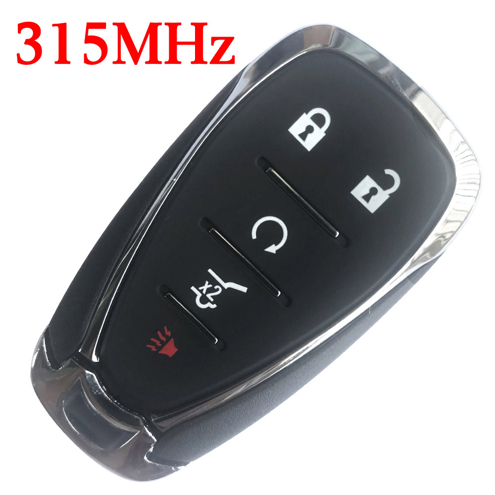 5 Buttons 315 MHz Smart Proximity Key for 2015~2019 GM Chevrolet - ID46