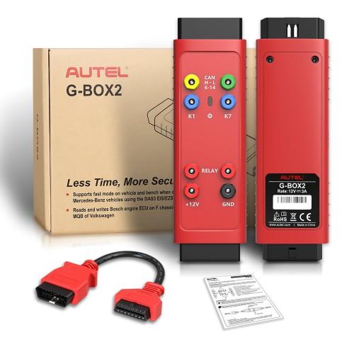 Original Autel G-BOX2 Tool for Mercedes Benz All Key Lost Work with Autel MaxiIM IM608 IM508