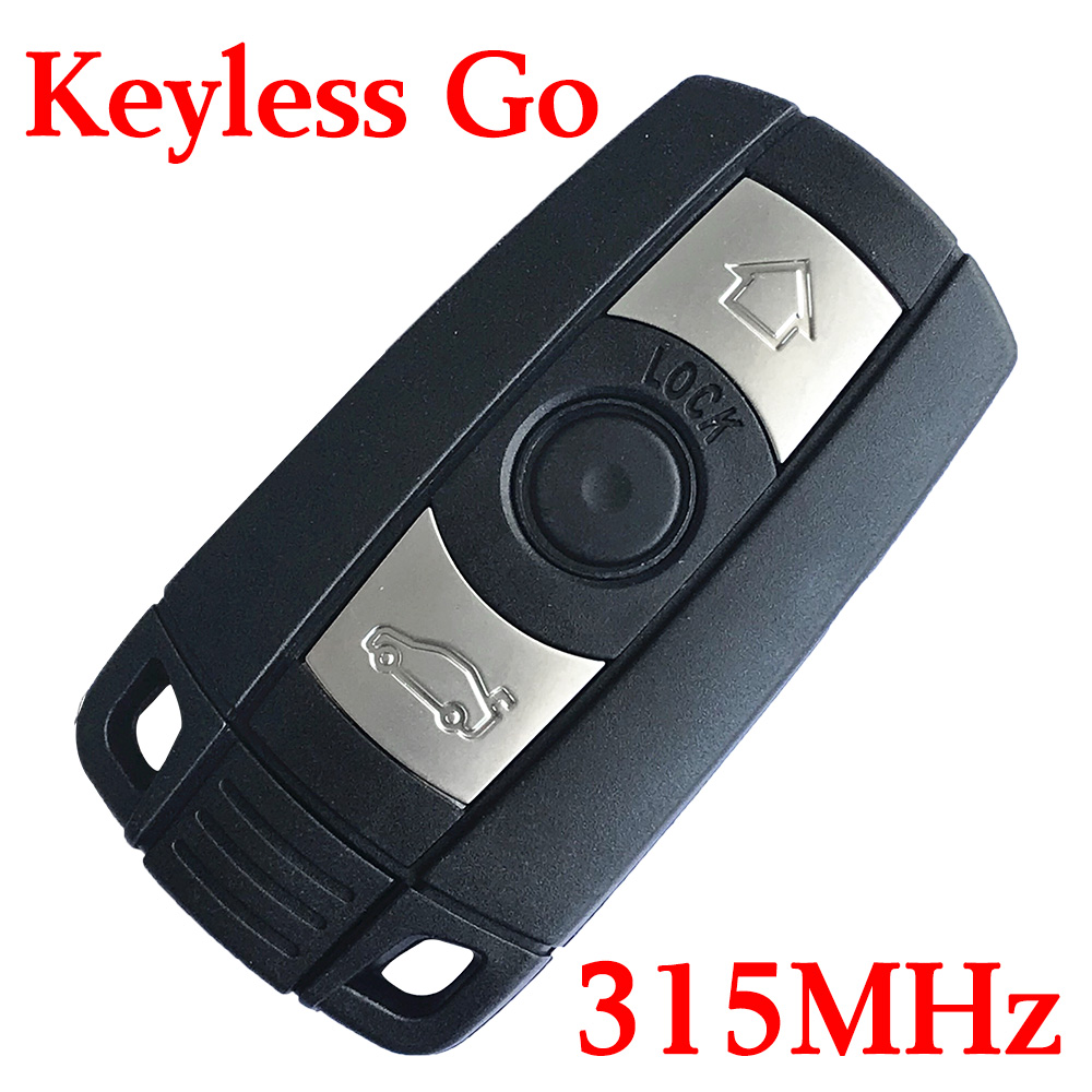 315 MHz Smart Proximity Key for 2004~2010 BMW 3 / 5 Series CAS3 - KR55WK49147 / Comfort Access
