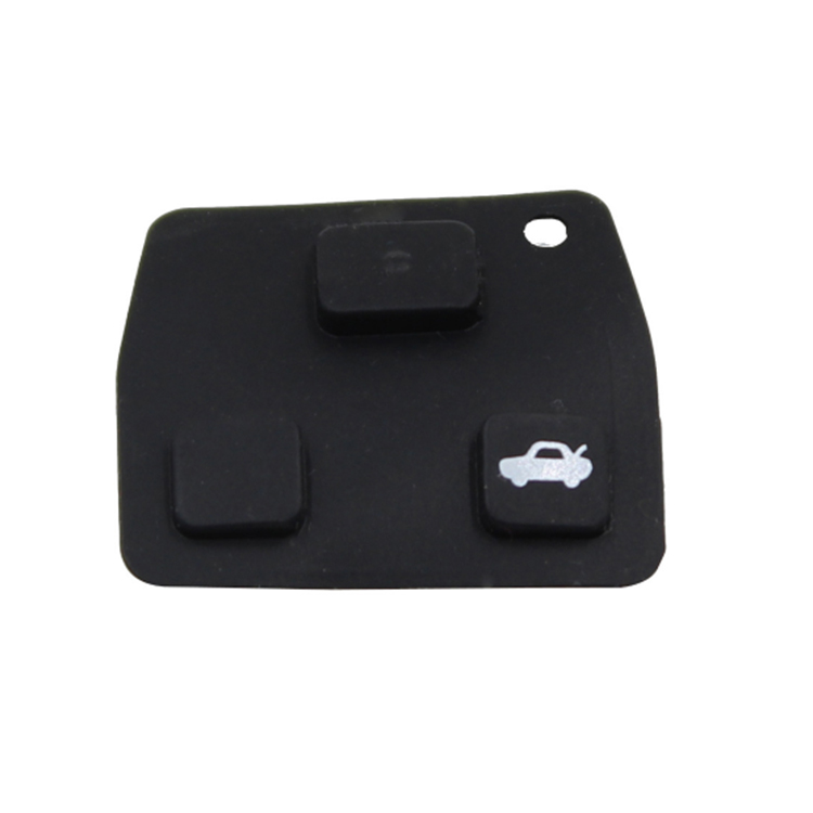 3 button Rubber pad for Toyota key 10 pcs