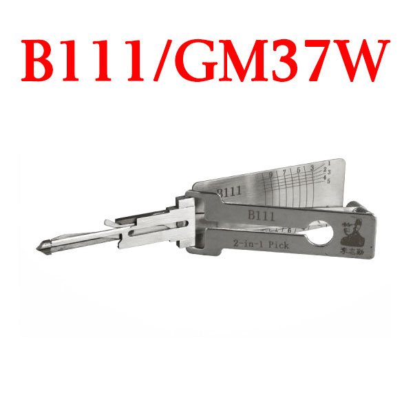 LISHI B111 / GM37W for Hummer - 2 in 1 Auto Pick and Decoder