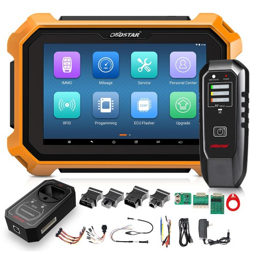 OBDSTAR X300 DP Plus X300 PAD2 C Package Full Version Get Free Renault Convertor and FCA 12+8 Adapter