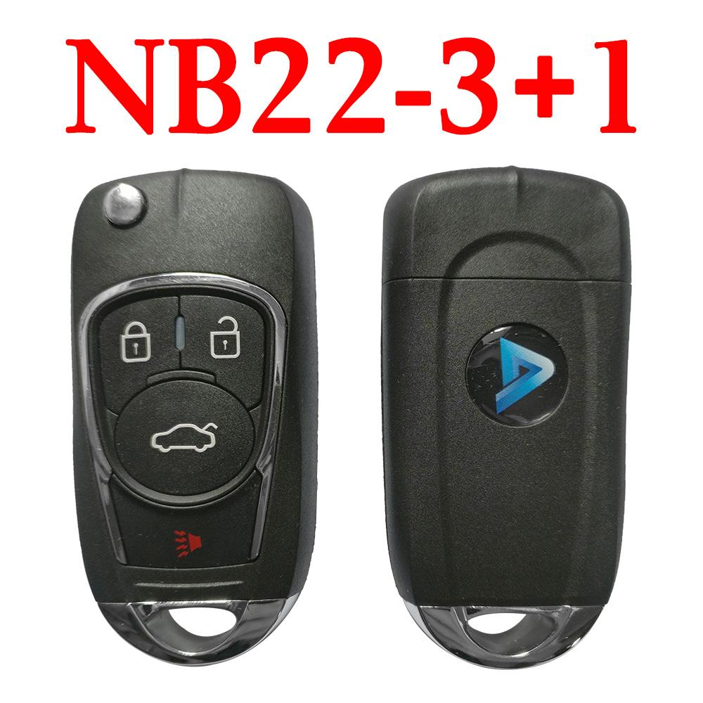 KEYDIY NB22-3+1 Universal Remote Control - 5 pcs