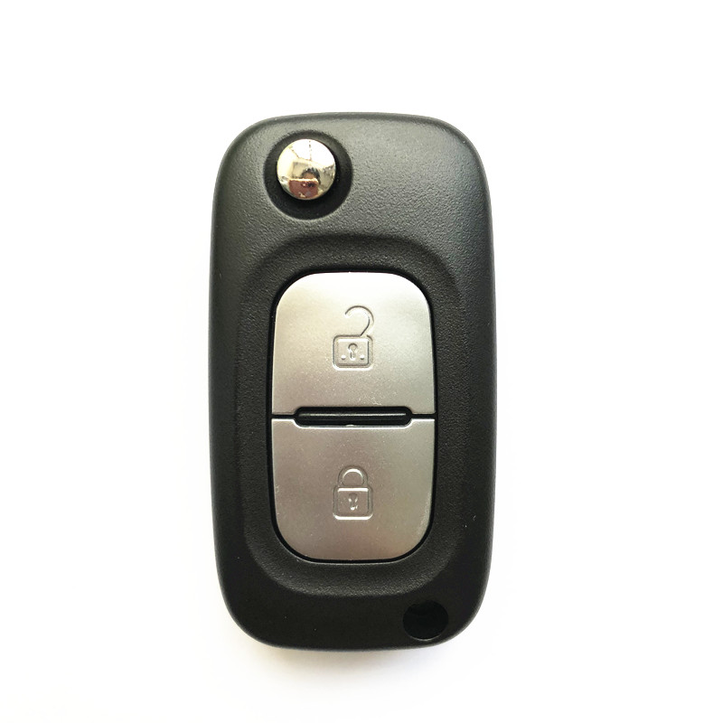 Renault Clio Master Kangoo Modified Flip Remote Key 2 Buttons 433MHz PCF7946