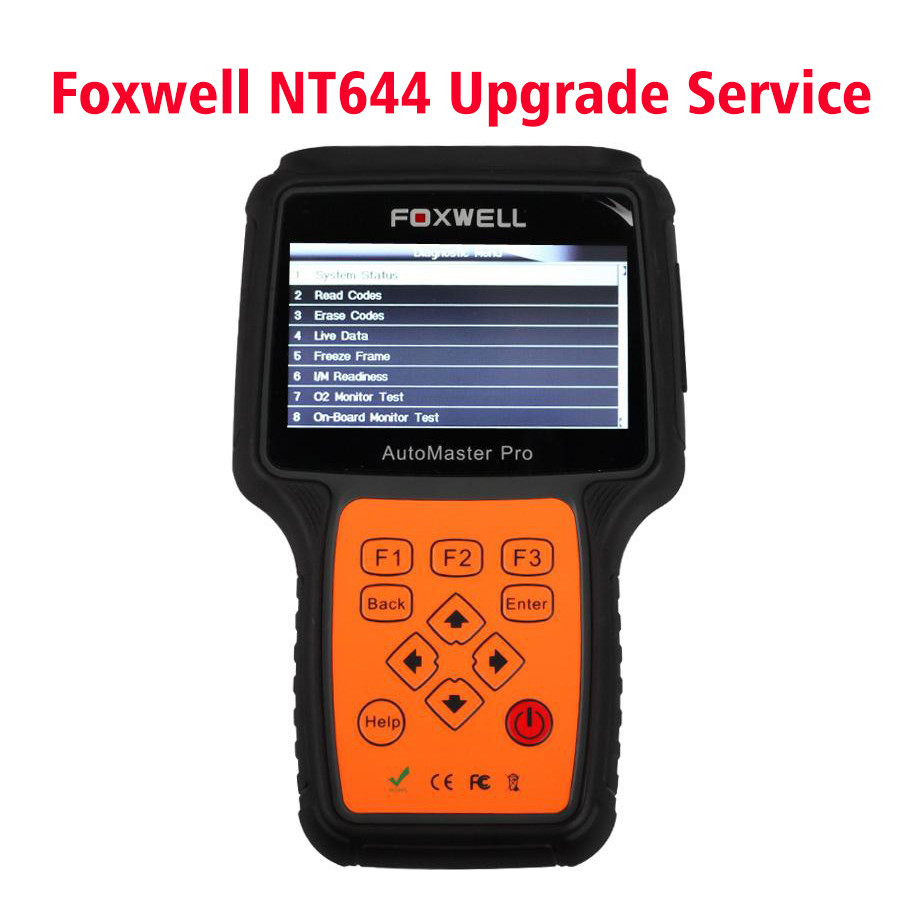 Foxwell NT644 AutoMaster Upgrade to NT644 Pro Service