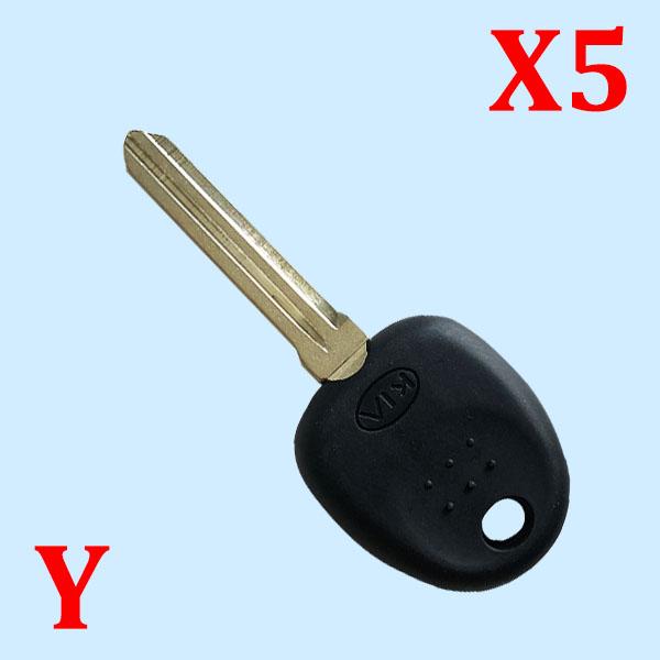 Transponder Key Shell for KIA (5pcs)