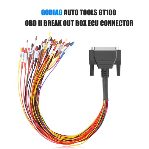 Colorful Jumper Cable DB25 for Godiag GT100