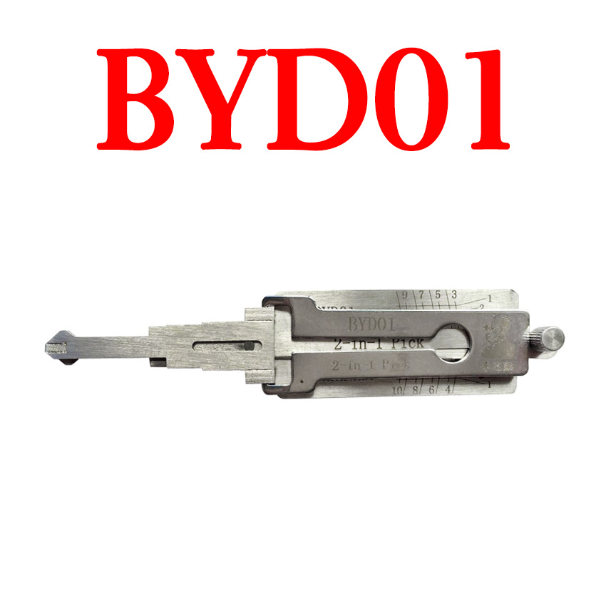 Original LISHI BYD01 Auto Pick and Decoder (Left) for BYD