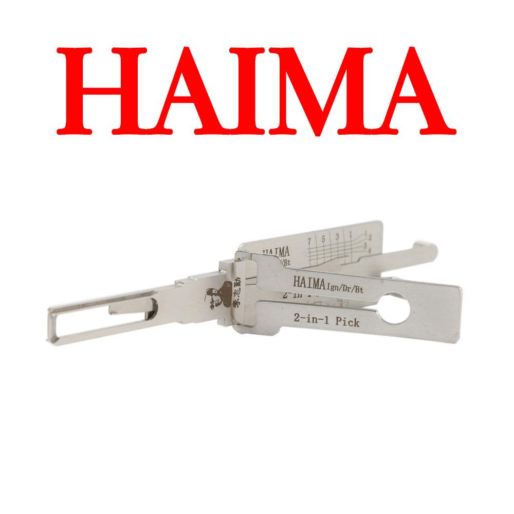 Original LISHI HAIMA 2 in 1 Auto Pick and Decoder for HAIMA