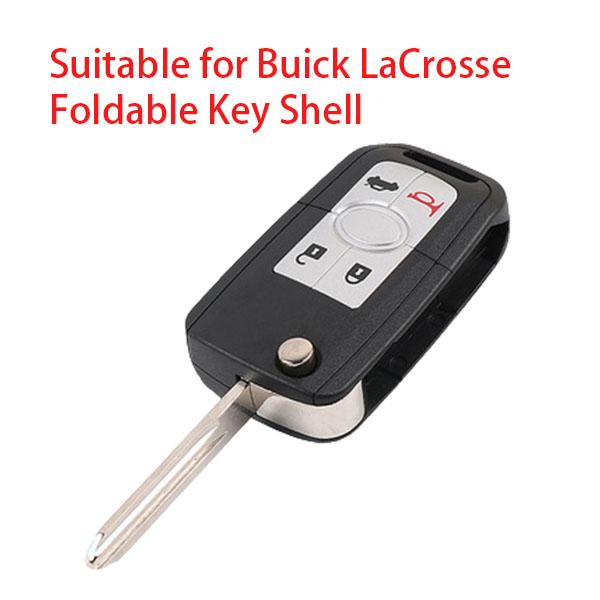 Transponder Key Shell for Buick - Pack of 5