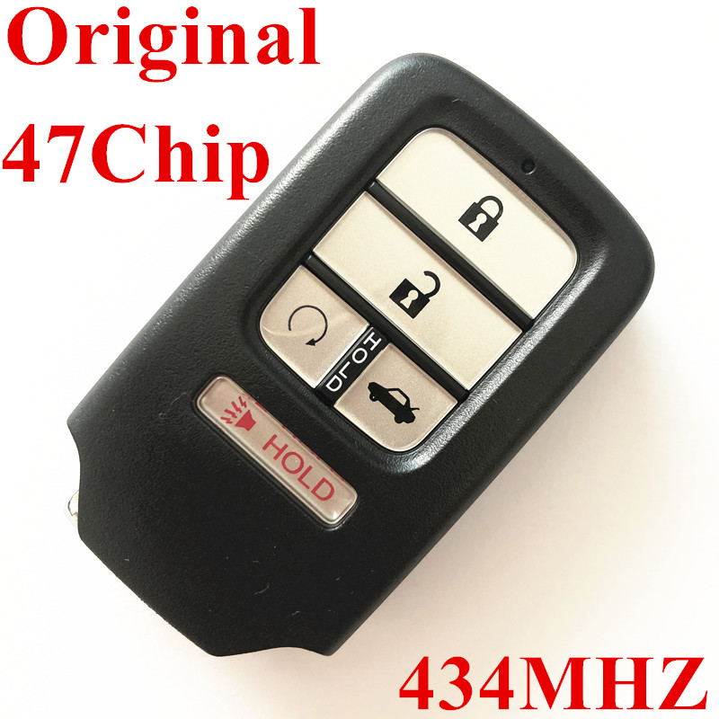 Original 434 MHz 4+1 Buttons Smart Proximity Key for Honda - with 47Chip  Part No:72147-TBA-A111-M1