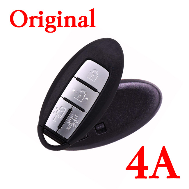 Original 434 MHz 4 Buttons Smart Key for Nissan Quest - 4A Chip - S180144604