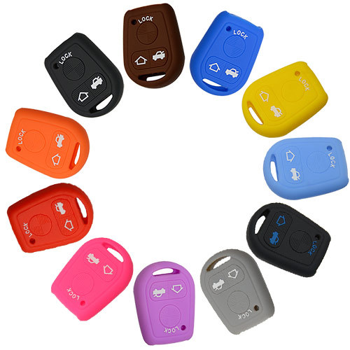 Silicone Cover for Old BMW X5 Car Keys - 5 Pieces