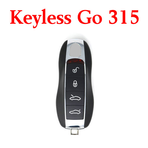 315 MHz 4 Buttons Smart Proximity Key for Porsche 2010-2017 - KR55WK50138