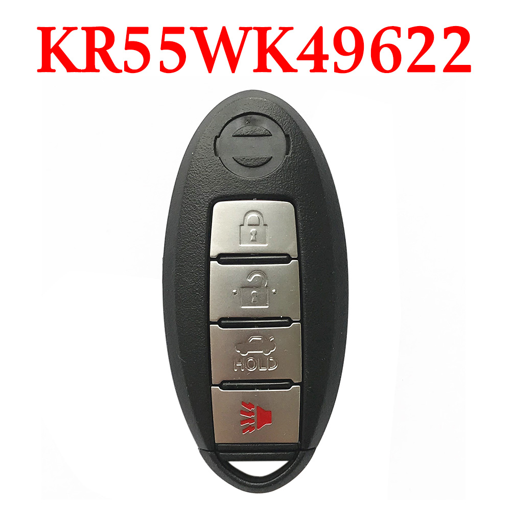 315 MHz 3+1 Buttons Smart Proximity Key for Nissan / Inifiniti - KR55WK49622/ KR55WK48903