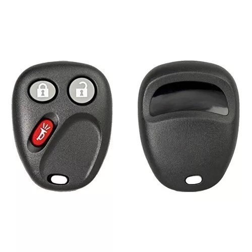 3 Buttons Remote Key Shell Medal for GMC Blaizer - Pack of 5