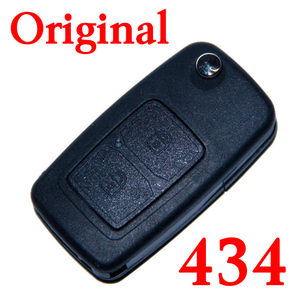 Original 2 Buttons 434 MHz Folding Remote Key for Chery Tiggo