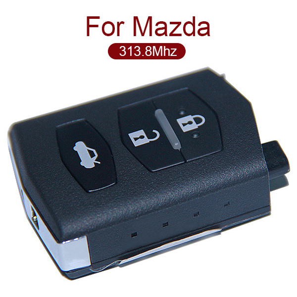 AK026026 3 Button Remote Key 313.8MHz Mitsubishi System for Mazda