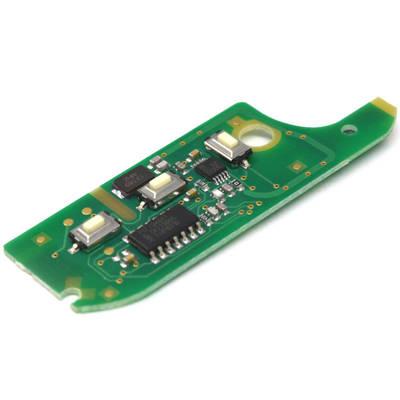 3 Button Remote PCB 433MHz PCF7946 High Quality for Fiat Doblo