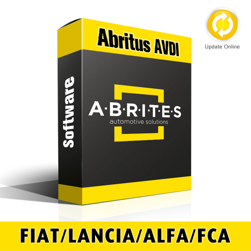 FN017 Fiat/Lancia/Alfa/FCA Vehicles PIN and Key Manager Software for Abritus AVDI