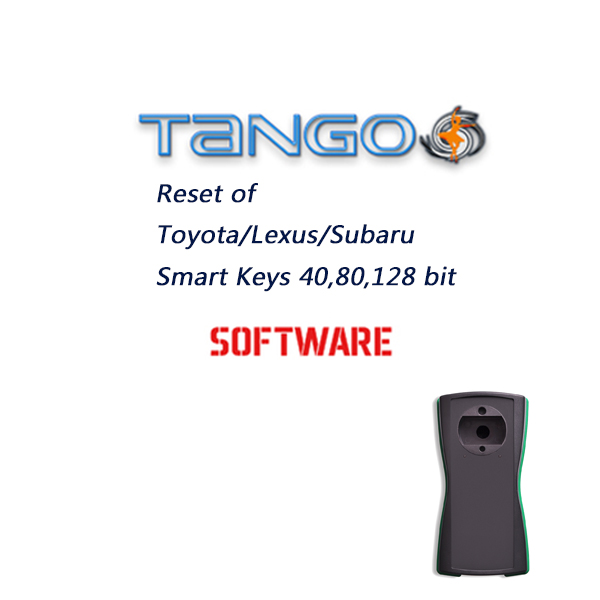 TANGO Reset of Toyota /Lexus /Subaru Smart Keys 40,80,128 bit Software