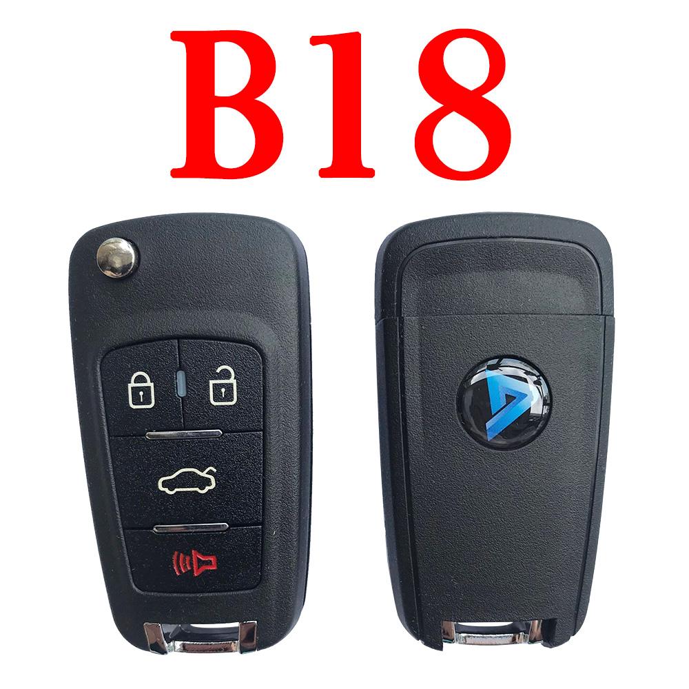 KEYDIY B18 KD Remote control - 5 pcs