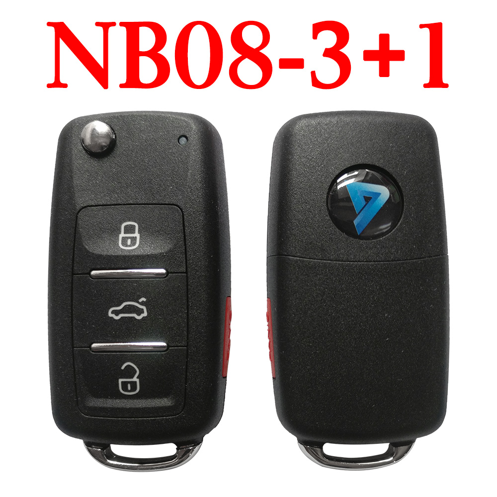 KEYDIY NB08-3+1 KD Universal Remote Control with Panic Button - 5 pcs