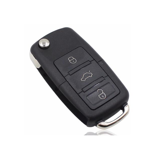 Remote Key for VW Skoda Seat 3 Button 433MHz ID48 Chip FCCID: 1J0 959 753 DA