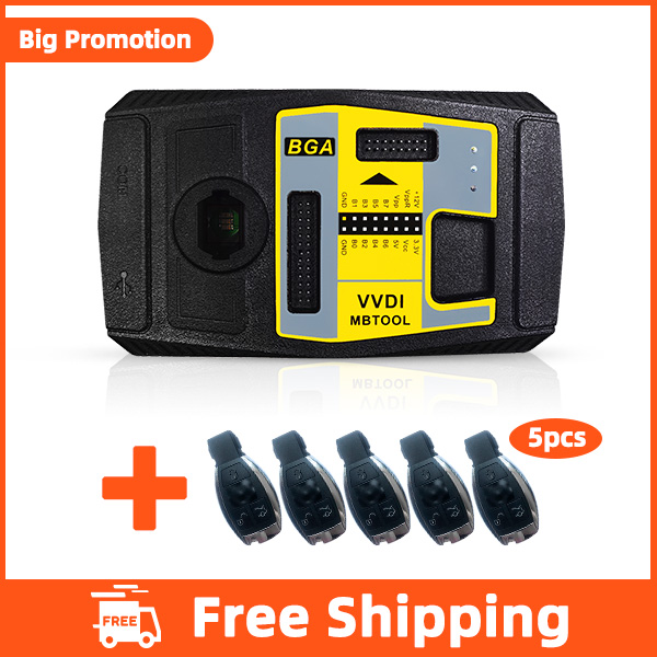Xhorse VVDI MB BGA With 5 pcs Free Benz Keys- DHL Free Shipping