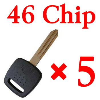 Transponder key for Nissan with 46 chip 5pcs