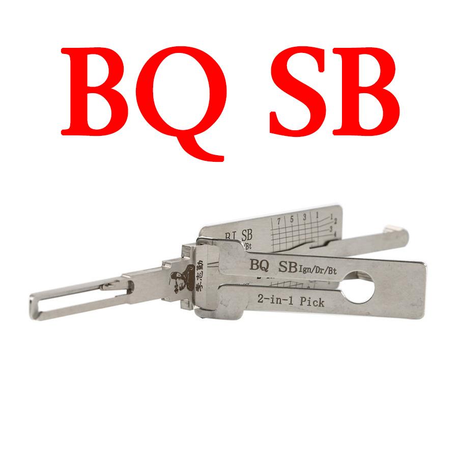 LISHI BQSB Auto Pick and Decoder for Baic Saab